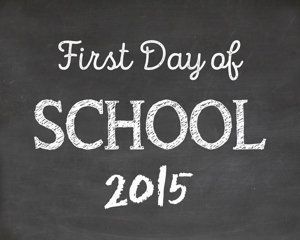 First Day of School Printable Laura Pea Photography